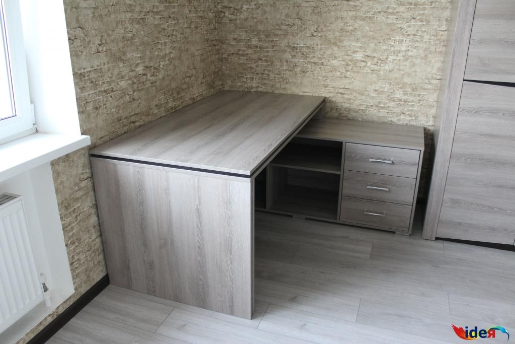 стол письменный угловой мебельное ателье идея